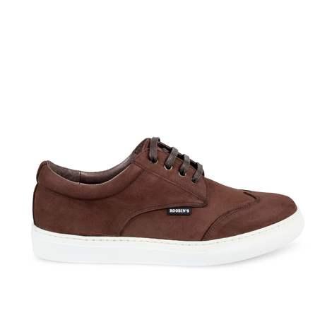 Sneaker Nobuck Expresso. Mod: Paros